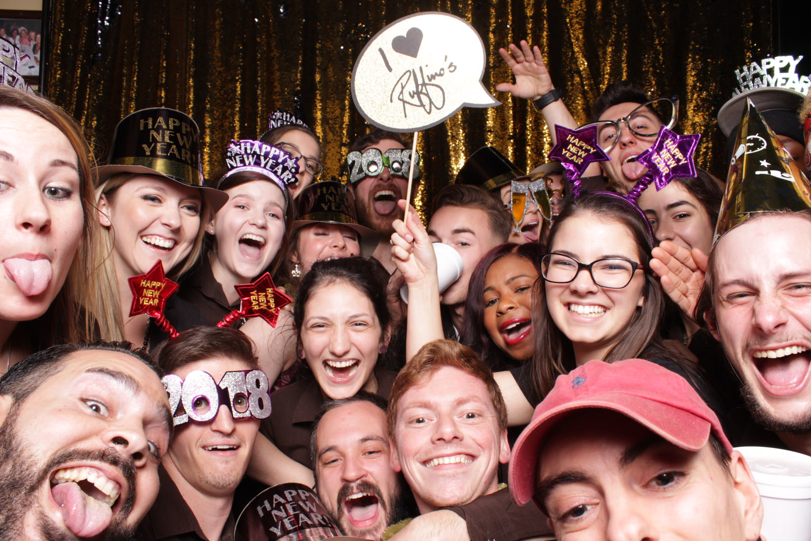Lafayette,LA - Photo Booth - New Year's Eve with Ruffino's on the River